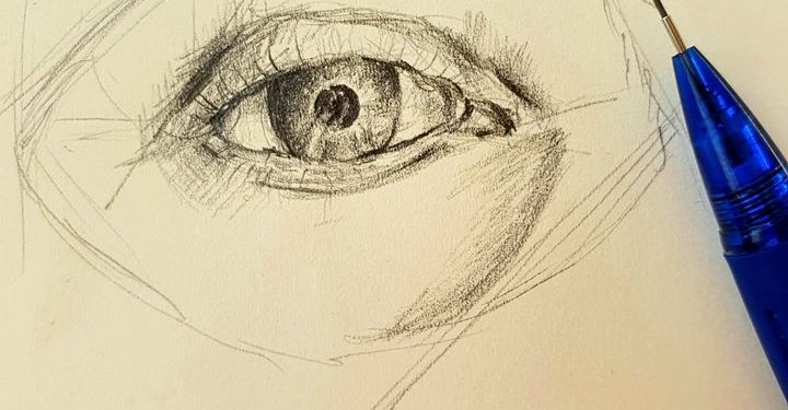 Detaily tváre
