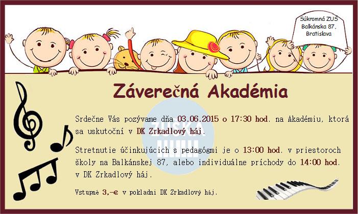 Slávnostná akadémia